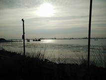威尼斯海边 免版税库存照片