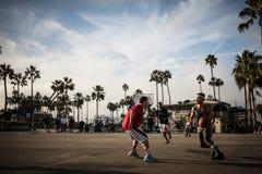 威尼斯海滩娱乐中心 免版税库存图片