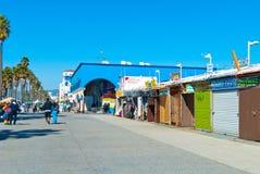 威尼斯海滩散步 库存图片