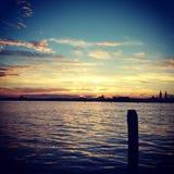 威尼斯海  库存照片