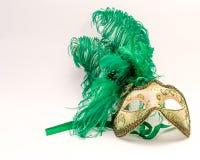 威尼斯狂欢节的面具 库存图片