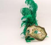 威尼斯狂欢节的面具 免版税库存照片