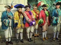 威尼斯狂欢节节日 库存照片