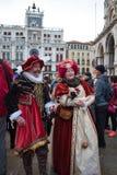 威尼斯狂欢节2018年 免版税图库摄影