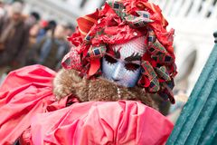 威尼斯狂欢节 库存图片