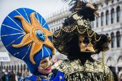 威尼斯狂欢节2015年 免版税库存图片