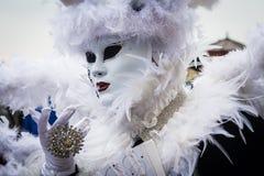 威尼斯狂欢节2015年 库存照片
