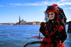威尼斯狂欢节2016年 库存图片
