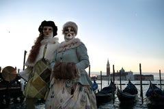 威尼斯狂欢节2016年 免版税库存照片