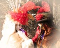 威尼斯狂欢节2016年 免版税图库摄影