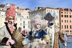 威尼斯狂欢节2016年 图库摄影