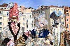 威尼斯狂欢节2016年 库存照片