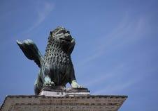 威尼斯狮子 免版税库存图片