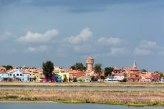 威尼斯盐水湖 库存照片