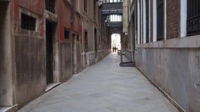 威尼斯缩小的街道 影视素材