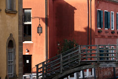 威尼斯背街 免版税库存图片