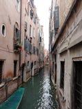 威尼斯街道视图 免版税图库摄影
