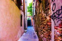 威尼斯街道 库存照片