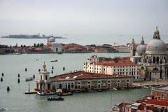 威尼斯被看见从1上 免版税库存照片