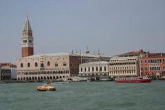 威尼斯被看见从2上 免版税库存照片