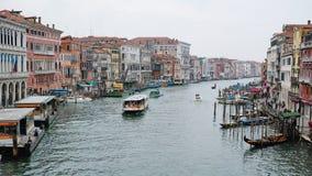威尼斯运河视图 库存照片