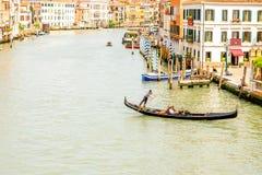 威尼斯都市风景视图 库存照片