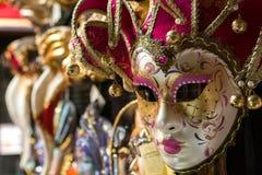 威尼斯面具 免版税库存照片
