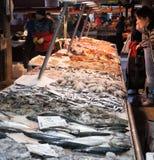 威尼斯鱼市 库存图片