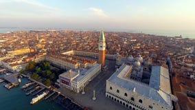 威尼斯鸟瞰图 股票录像