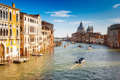 威尼斯,大运河,意大利 免版税库存照片