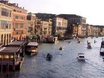 威尼斯,大运河 库存照片
