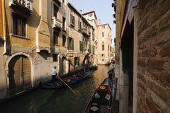 威尼斯,威尼托,意大利,欧洲运河  免版税库存图片