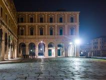 威尼斯,广场在晚上 免版税库存图片