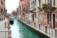 威尼斯,意大利一个美妙的看法  图库摄影