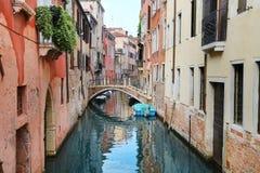 威尼斯,意大利一个美妙的看法  免版税库存图片