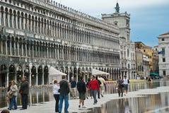 威尼斯,意大利圣马可广场 免版税库存图片
