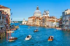 威尼斯,意大利美好的全景  库存照片