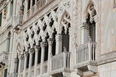 威尼斯,意大利- 2015年12月31日:无理建筑d 免版税图库摄影