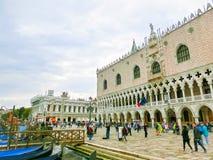 威尼斯,意大利- 2017年5月04日:St指示正方形 库存图片