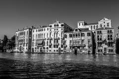 威尼斯,意大利- 2016年8月17日:在大运河都市风景的看法2016年8月17日的在威尼斯,意大利 库存图片