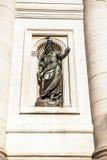 威尼斯,意大利- 2016年8月19日:著名威尼斯雕象&雕塑在历史名城北意大利2016年8月19日 免版税库存图片