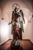 威尼斯,意大利- 2016年8月19日:著名威尼斯雕象&雕塑在历史名城北意大利2016年8月19日 库存图片
