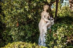 威尼斯,意大利- 2016年8月19日:著名威尼斯雕象&雕塑在历史名城北意大利2016年8月19日 图库摄影