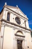 威尼斯,意大利- 2016年8月18日:著名建筑纪念碑和老中世纪大厦特写镜头五颜六色的门面8月的 库存照片