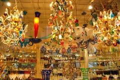 威尼斯,意大利玻璃商店 库存图片