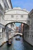 威尼斯,桥梁 免版税库存照片
