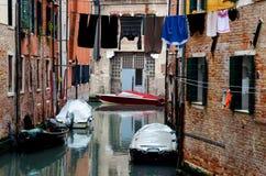 威尼斯,犹太少数民族居住区 免版税库存照片