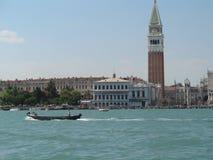 威尼斯,盐水湖的看法 库存图片