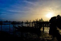 威尼斯,著名意大利城市典型的看法  库存照片