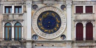 威尼斯,钟塔,特别地 免版税库存图片